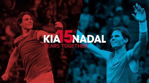 Afbeelding voor Kia Motors en Rafa Nadal 15 jaar samen succes