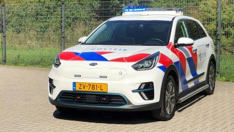 Afbeelding voor Kia e-Niro in dienst bij de politie