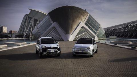 Afbeelding voor Hybride Fiat 500 en Fiat Panda beter voor milieu én portemonnee